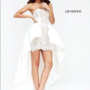 Super Fun Sherri Hill high low pageant dress